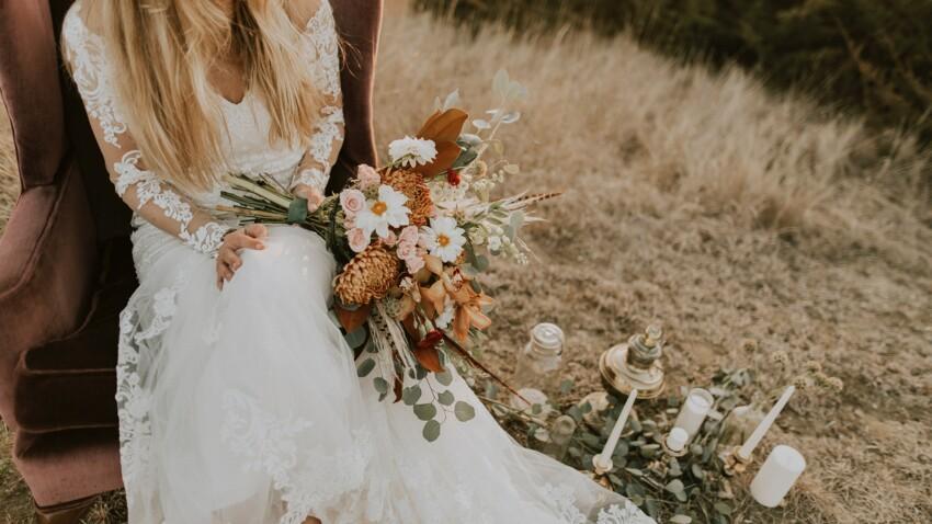Robe de mariée bohème : les plus beaux modèles des collections 2020
