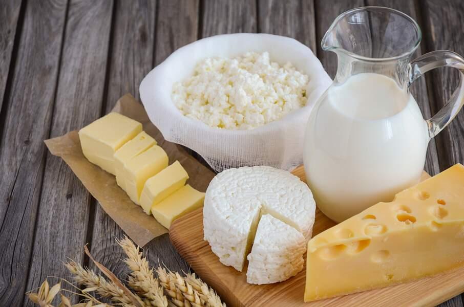 Les produits à base de lait de vache
