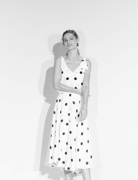 "Look tendance : pois en ""all over"""