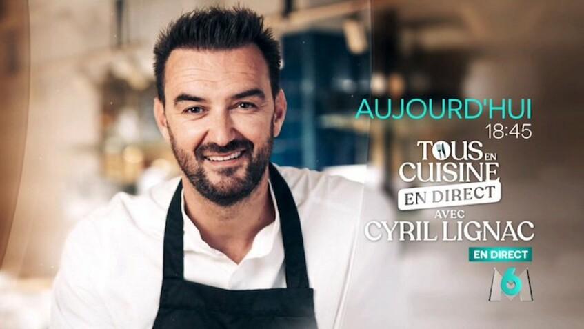 """""""Tous en cuisine"""" du vendredi 15 mai : recettes, ingrédients et ustensiles de Cyril Lignac"""