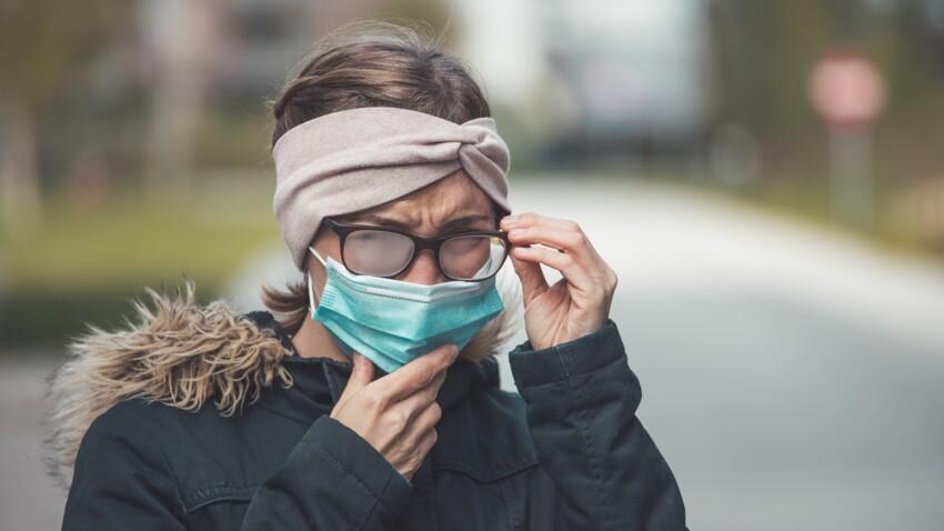 Masque de protection : 4 astuces pour éviter d'avoir de la buée sur ses lunettes