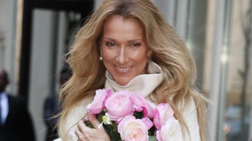 Céline Dion : robe d'été décolletée et petits nœuds, cette tenue qui lui va à merveille (découvrez la vidéo)