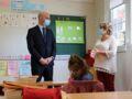 Le lapsus de Jean-Michel Blanquer devant des élèves d'une école primaire