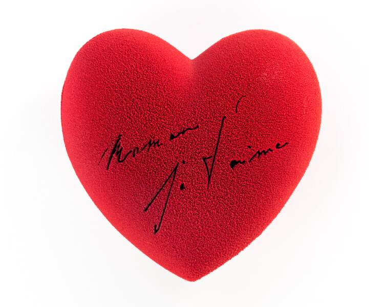 Coeur en chocolat Patrick Roger