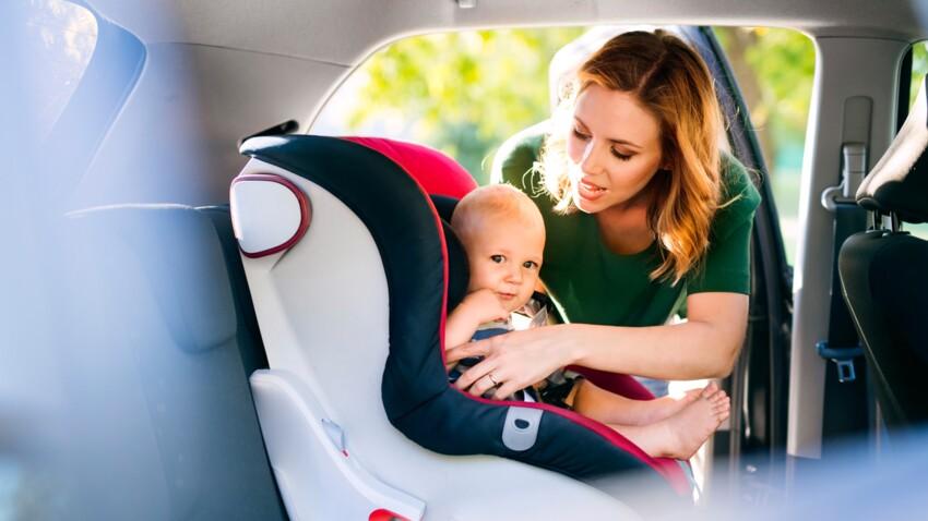 Sièges auto : 60 millions de consommateurs liste les produits les plus sûrs