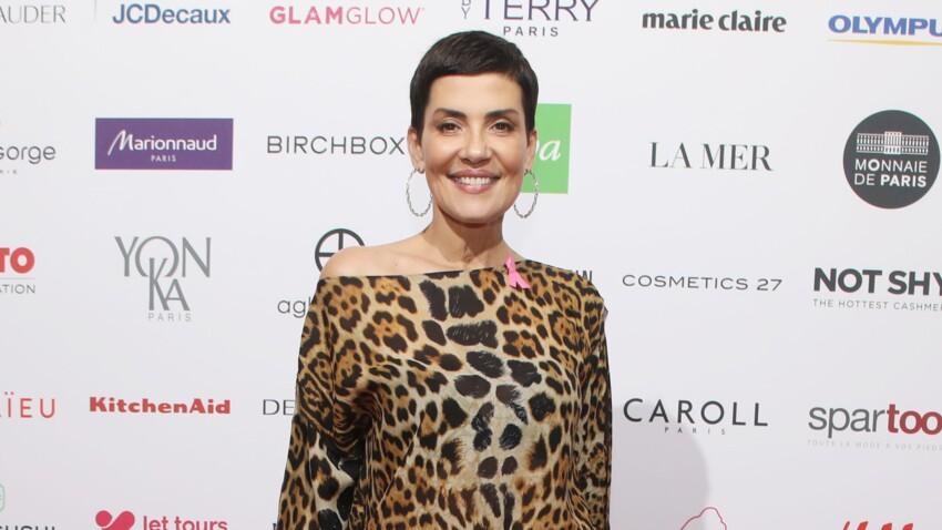 Cristina Cordula : chapeau de paille et pantalon large, découvrez son look d'été