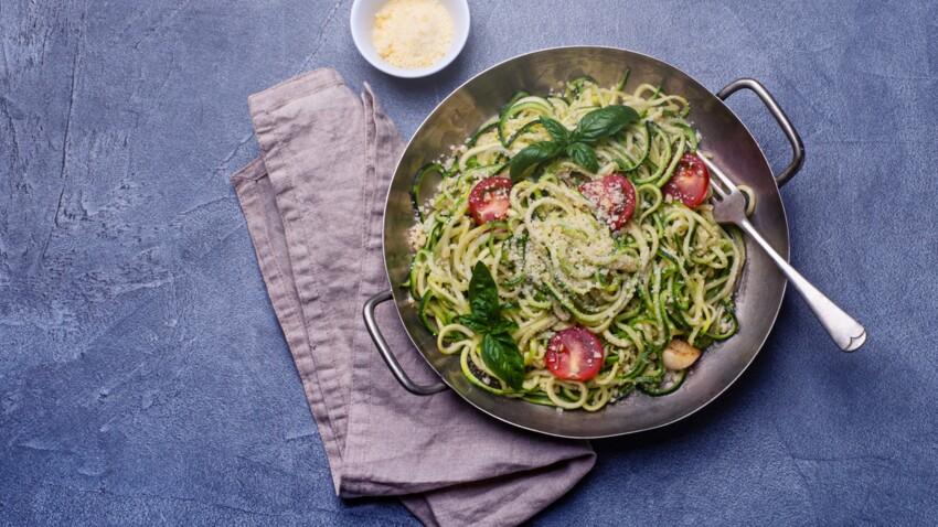Comment faire des spaghettis de courgette : nos conseils et recettes