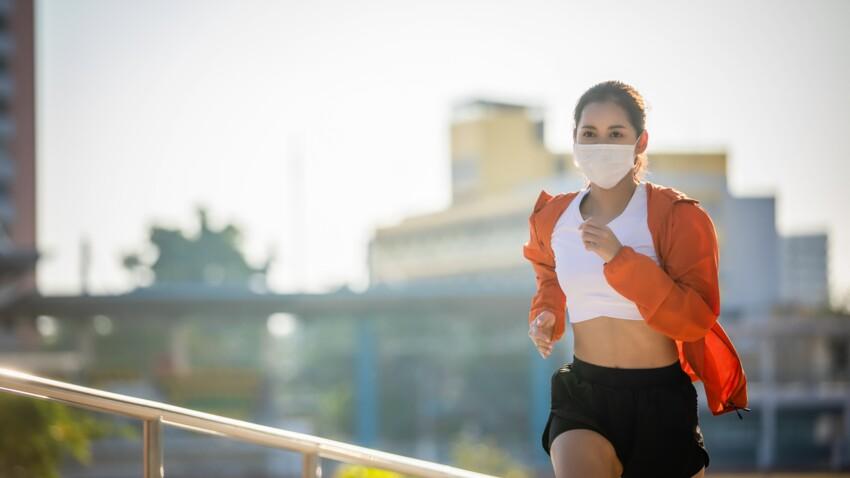 Running : est-il plus prudent de porter un masque pour une séance de sport en plein air ?
