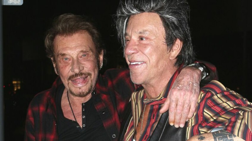 Johnny Hallyday : son ami Mickey Rourke lui rend un bouleversant hommage