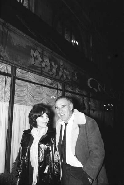 Juliette Gréco et Michel Piccoli