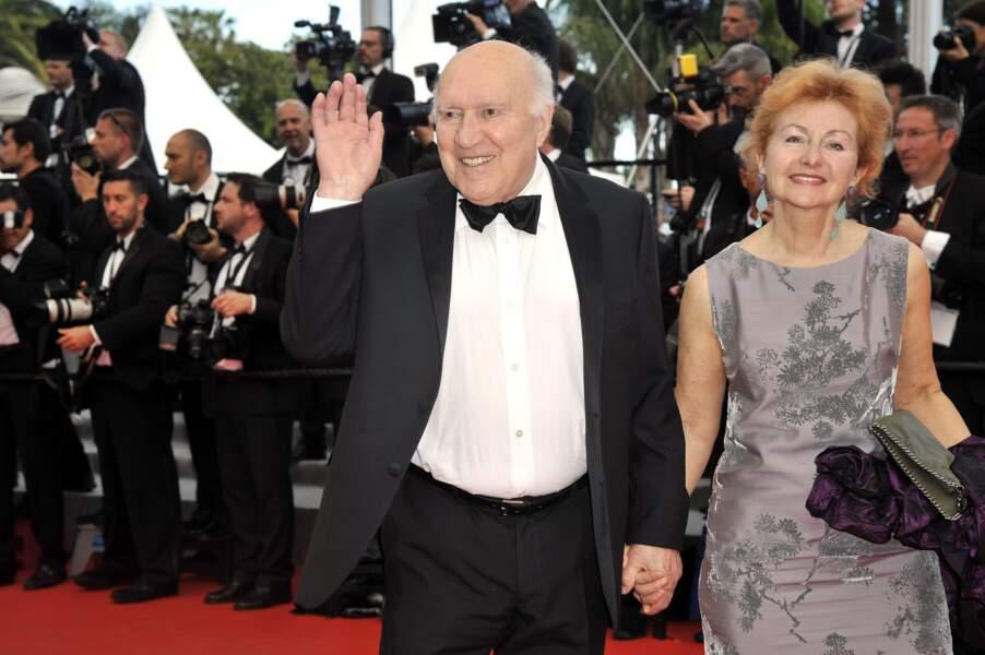 Michel Piccoli et sa femme Ludivine Clerc