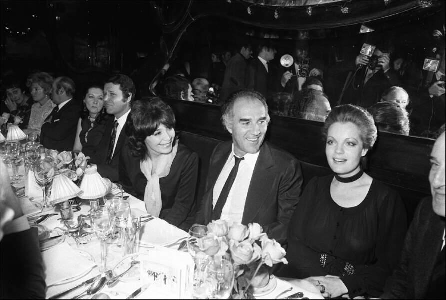 Juliette Gréco, Romy Schneider et Michel Piccoli