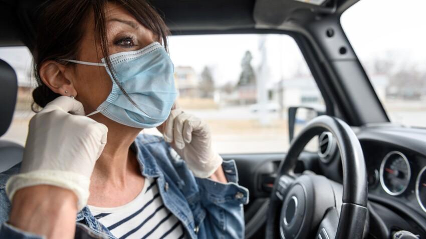 Port du masque en voiture : quelles sont les règles ?