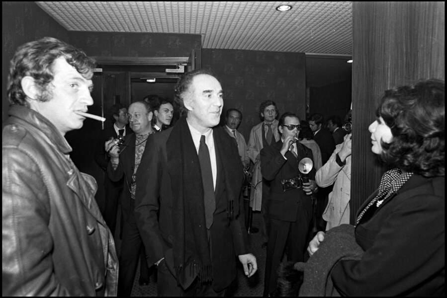 Jean-Paul Belmondo, Michel Piccoli et Juliette Gréco