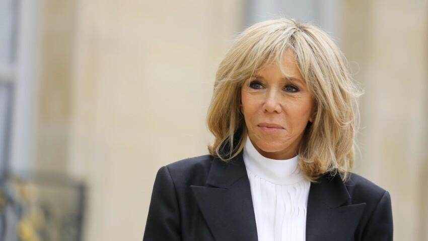 Brigitte Macron masquée : de retour sur le terrain après deux mois de confinement