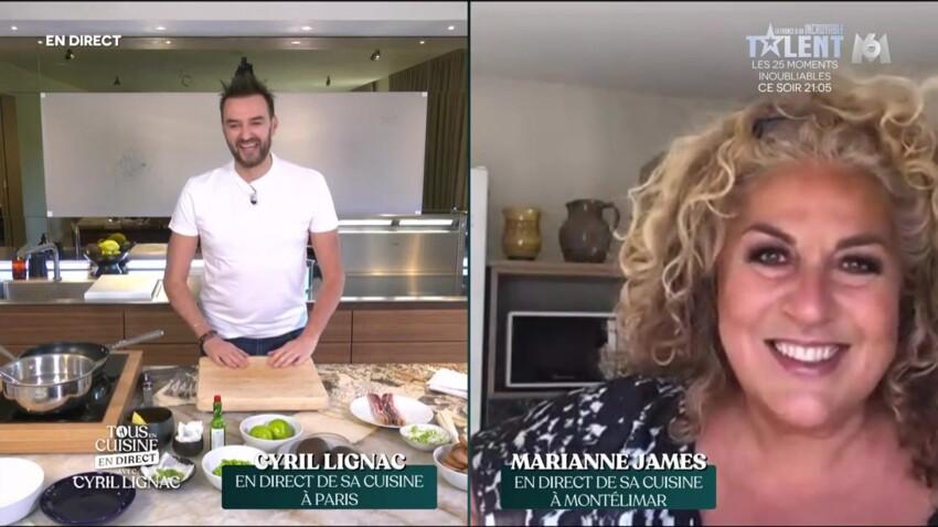 """""""Tous en cuisine"""" : Cyril Lignac se fait reprendre par Marianne James sur sa recette"""