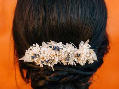 Accessoire cheveux mariage : les pus belles pièces à shopper pour briller