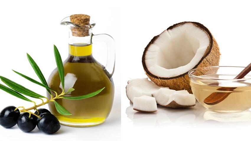 Huile d'olive ou de coco, laquelle choisir ?