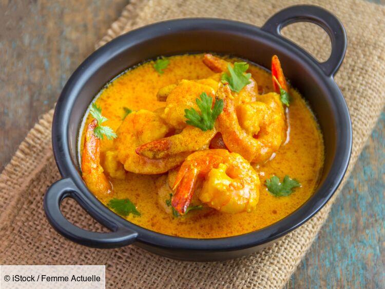 """""""Tous en cuisine"""" : la recette des crevettes curry coco de Cyril Lignac"""