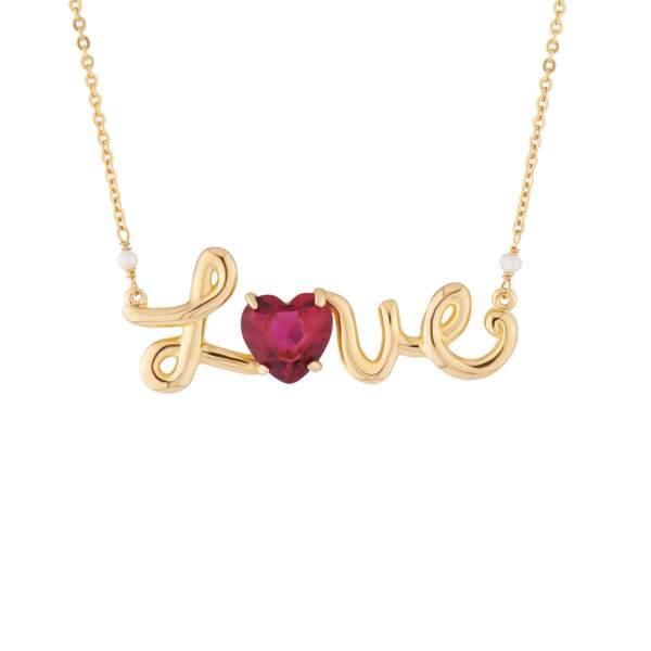 Un collier plein d'amour
