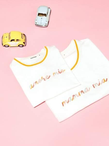 Le tee-shirt à message