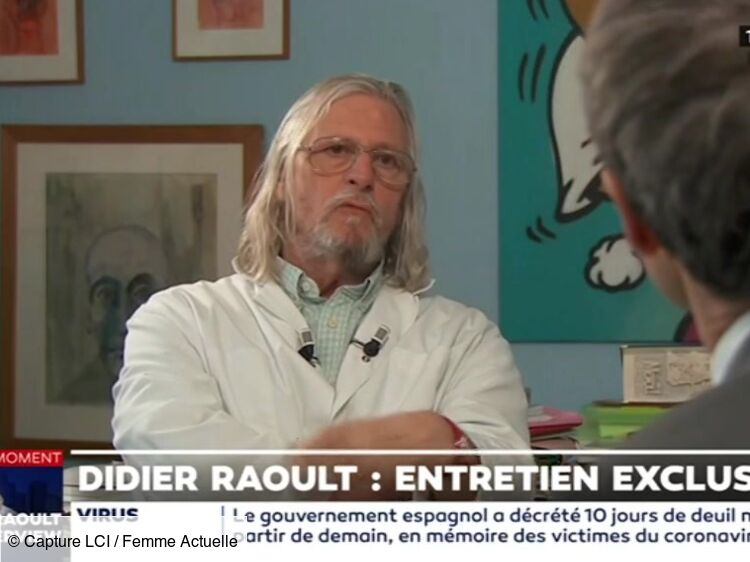 Didier Raoult : son incroyable transformation physique en 10 ans