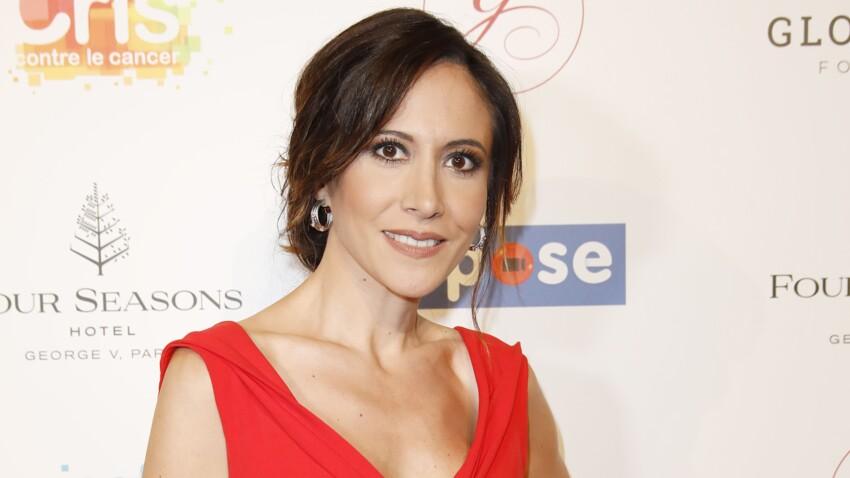 Fabienne Carat : lissage parfait et maquillage au top, elle ose un accessoire détonnant