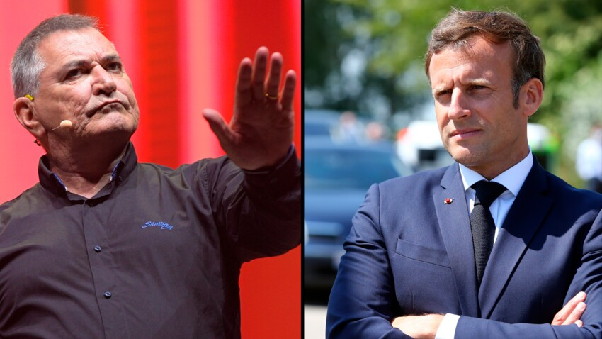 """Emmanuel Macron """"fâché"""" avec Jean-Marie Bigard après leur coup de fil"""