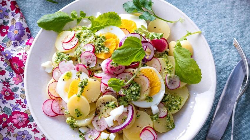 Nos délicieuses recettes de salades de pommes de terre