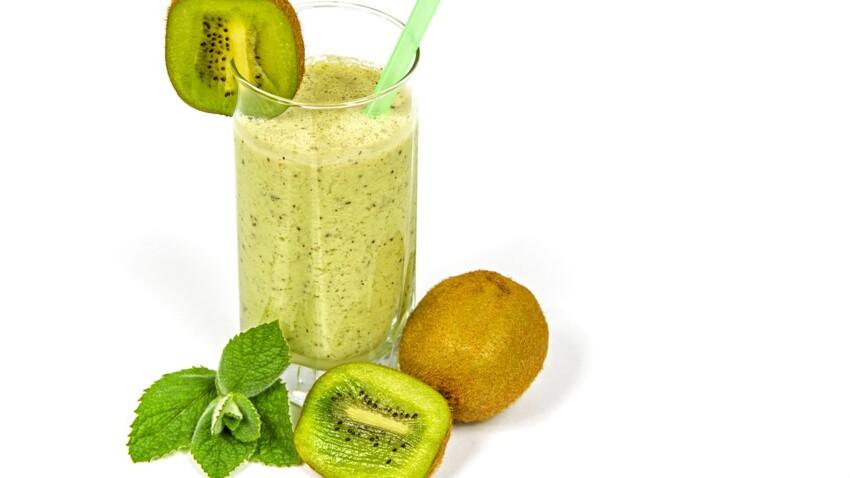 Nos meilleures recettes de smoothies à base de kiwi
