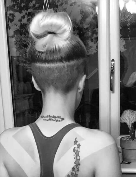 Undercut : une option sur cheveux longs avec un chignon