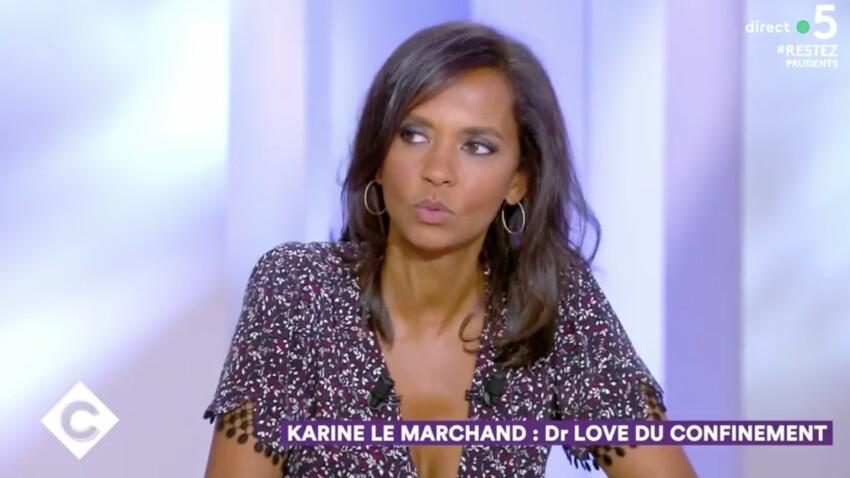 """""""C à vous"""" : Karine Le Marchand raconte son expérience du racisme à la télévision"""