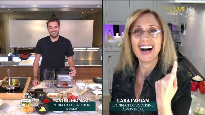 """Lara Fabian : ce détail qui a agacé les téléspectateurs de """"Tous en cuisine"""""""