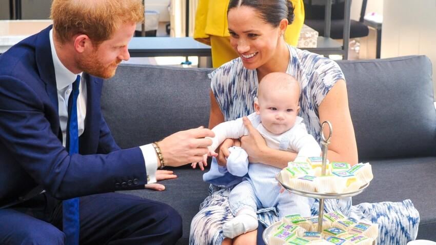 Meghan Markle et Harry : leur fils Archie, un bébé déjà bavard !