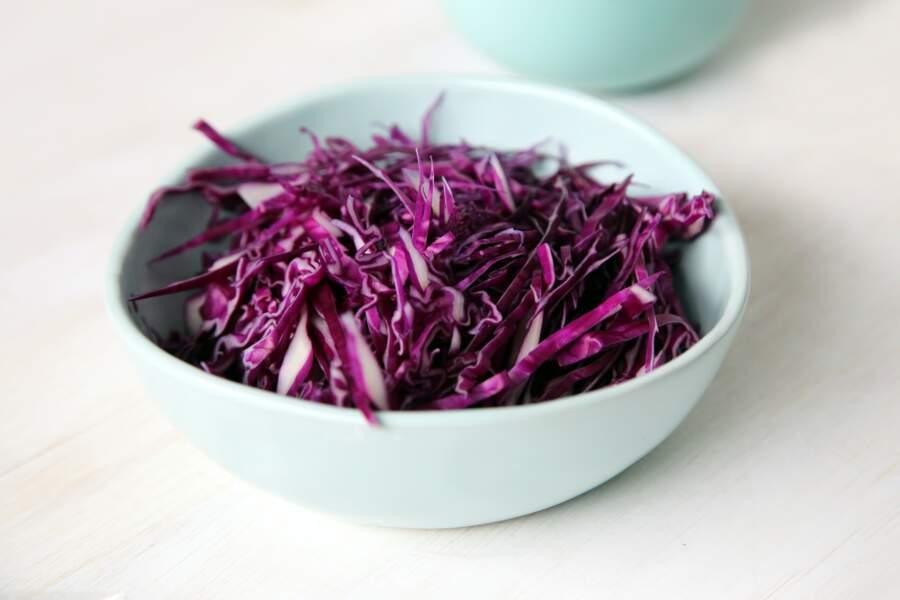 Miser sur les végétaux violets anti-âge