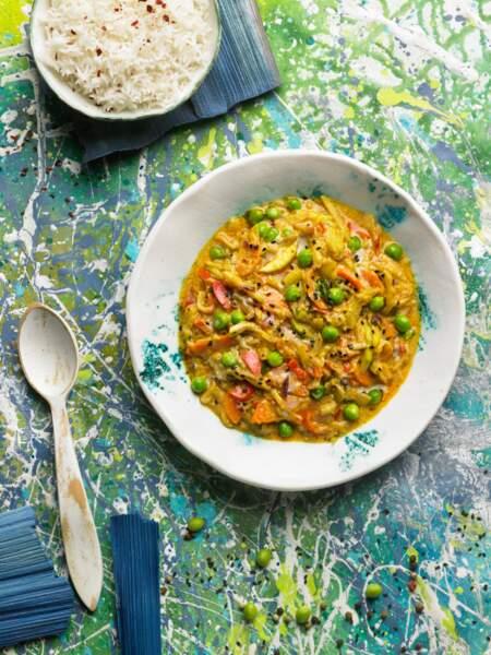 """""""Tous en cuisine"""" : la recette du curry japonais de légumes de Cyril Lignac"""