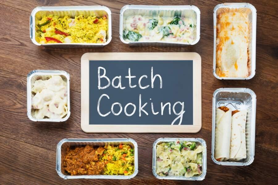 Pratiquer le batch cooking
