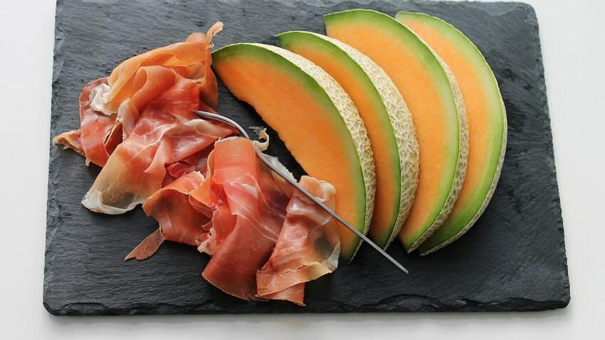 Nos idées de recettes originales de melon au jambon