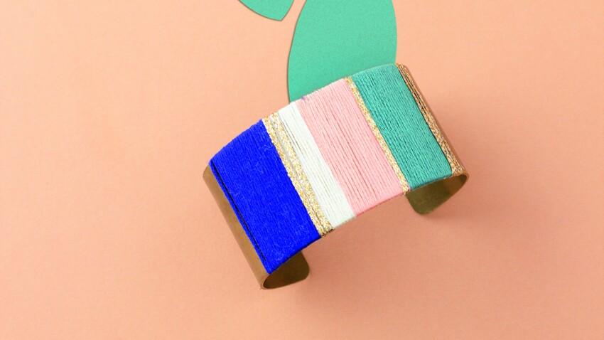 Bracelet en laiton : le DIY facile pour faire de jolis bijoux