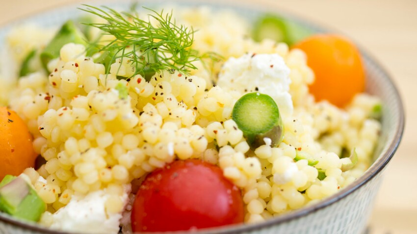 Salade de Perles toute en rondeur