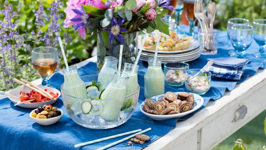 9 recettes fraîcheur pour votre menu d'été