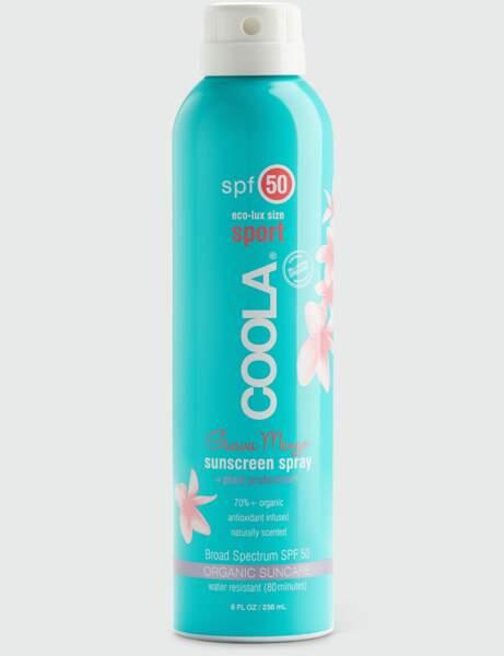 Crème solaire : un spray respectueux de la peau et de la planète