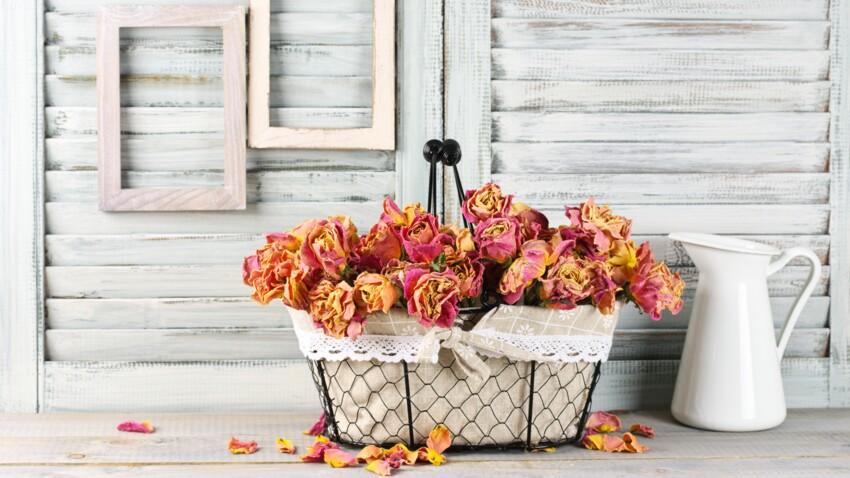 Faire sécher les roses du jardin sans altérer leur couleur