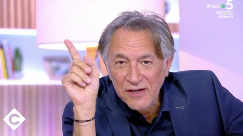 """""""C à vous"""" : Richard Berry adresse un message adorable à sa fille Mila"""