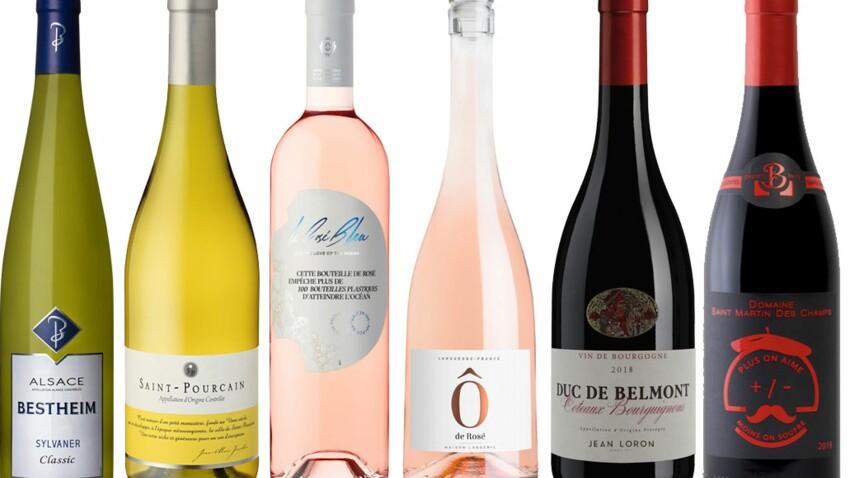 Blanc, rouge, rosé… nos vins préférés pour l'été 2020