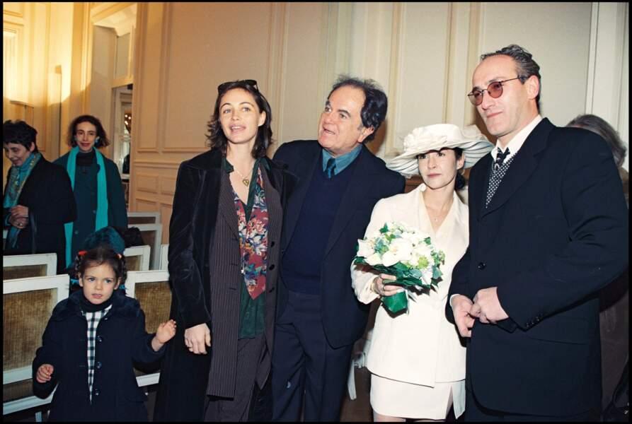 Mariage d'Eve Béart et de Jean-Pierre Besneux