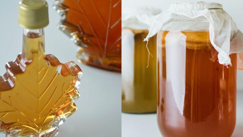 Miel ou sirop d'érable : tout savoir sur ces sucres naturels : Femme  Actuelle Le MAG