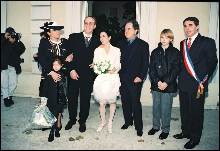 Mariage d'Eve Béart