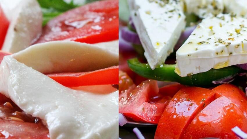Mozza ou feta : tout savoir sur les fromages de l'été