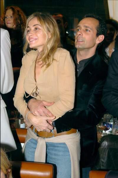 Emmanuelle Béart et son frère Olivier Guespin